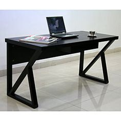 @Overstock - Enhance your home or office decor with the Modern Espresso desk  Sturdy piece of furniture is made of MDF and wood veneers  Stylish desk showcases a luxurious espresso finishhttp://www.overstock.com/Home-Garden/Modern-Espresso-Desk/3249022/product.html?CID=214117 $208.99