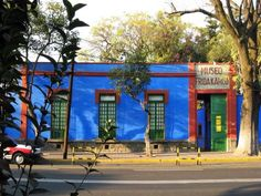 Museum of Frida Kahlo in Mexico City