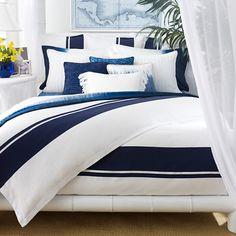 Bedding Crush: Ralph Lauren's Indigo Modern, ON SALE! | theLENNOXX