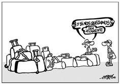 ¿Y si nos quedamos? Humor Grafico, Grande, Cartoons, Founding Fathers, Libros, Illustrations, Language, Thanks, Jokes