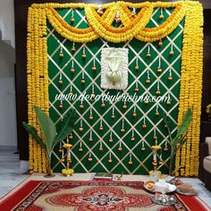 Simple Stage Decorations, Diwali Decorations At Home, Backdrop Decorations, Backdrops, Flower Decorations, Wedding Backdrop Design, Desi Wedding Decor, Wedding Hall Decorations, Wedding Mandap