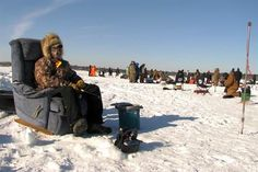 Enjoy the cool spectacle of Minnesota's winter ice fishing festivals or try the sport for free at MN State Parks.