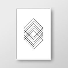 Printable Minimalist Poster, Minimalist Print, Scadinavian Print, Modern Geometric Print, Nordic Poster, Monochrome Print, Geometric Art