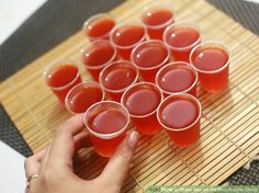 How to Make Sex on the Beach Jello Shots. Jello shots are a fun addition to any party, since they are both portable and delicious. Sex on the Beach Jello Shots taste sweet and summery, and will remind your guests of sipping drinks on the. Gelatin Recipes, Jello Shot Recipes, Alcohol Recipes, Jello Gelatin, Martini Recipes, Pudding Recipes, Party Recipes, Cocktail Recipes, Drink Recipes
