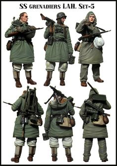 [DIWEINI] 1 35 scale resin model figures kit German E62 (3 figures)