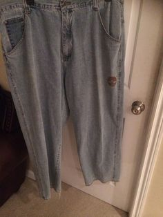Men Light Wash Timberland Size 44 Jeans  #Timberland #Relaxed