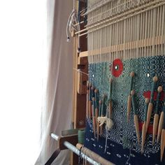 Episode Ancient and Contemporary Weaving Techniques with Natalie Novak Tapestry Loom, Weaving Patterns, Weaving Techniques, Textile Artists, Artsy Fartsy, Fiber Art, Ladder Decor, Original Artwork, Arts And Crafts