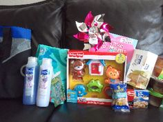 Making a Care Package for a parent with a baby/child in the hospital...