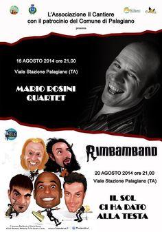 TARAStv: MARIO ROSINI, THE REDCKNESS E LA RIMBAMBAND PER DA...