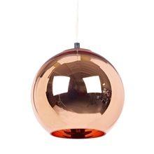Modern Tom Dixon Copper Glass Ball Pendant Lamp E27 LED Para QuartosLight Fixture Kitchen Home Lighting lustres de sala L58(China (Mainland))