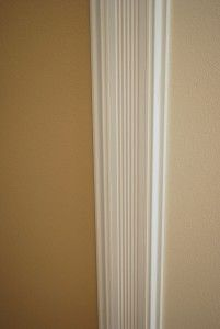 Trim On Wall Between Two Rooms Or In My Case The Dining Room And
