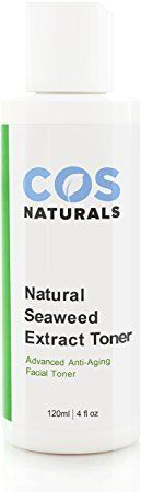 COS Naturals Seaweed Extract Facial Toner Organic AntiAging Skin Care For Face 4 oz ** Click on the image for additional details.