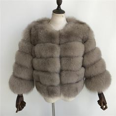 Luxurious 100% Genuine Thick Fox Fur Jacket Fox Fur Jacket, Fox Fur Coat, Fur Coats, Winter Jackets Women, Female, Natural, Ootd, Lifestyle, Outfit
