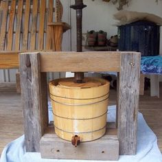 Making a Small Homebuilt Cider Press