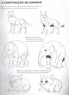 Desenhos, desenhos meus: tutoriais de desenho