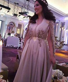 @mayssamaghrebi11 #caftan_marocain #caftan #caftan2016 #caftan_haute_couture…