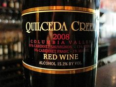 Quilceda Creek 2008 Columbia Valley Red Wine. So beautiful
