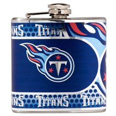 Great American Products Tennessee Titans Flask Stainless Steel (Silver) 6 oz. Flask (Metal)