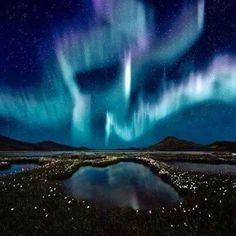 Twitter / - northern lights