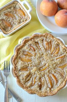 Old-fashioned peach crisp: http://www.stylemepretty.com/living/2015/08/09/25-peach-recipes-to-make-your-august-even-sweeter/