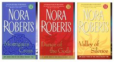 I don't normally read Nora Roberts but I found the subject matter and writing style in these books made them a page turner.