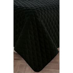 Luxury Diamond Reversible Twin/twin XL Quilt Set In Black/burgundy