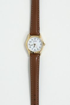 Leather Casio Dog Watch - THE WHITEPEPPER