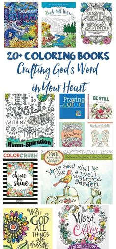 Bible Coloring! Hide God's Word in Your Heart Visually.