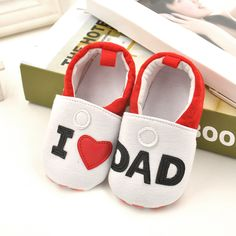 >> Click to Buy << Soft Cotton Baby Shoes Infant Shoes Infant Walking Shoeses Love Dad Baby Shoeses Love Mom Baby Shoeses #Affiliate