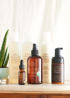 John Masters Organics Bare Unscented Shampoo - gentle and sulfate-free | www.rodales.com