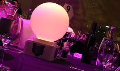 DMX controllable LED table centres to hire from Table Art. Table Centers, Recent Events, Light Bulb, Centerpieces, Led, Design, Home Decor, Table Centerpieces, Decoration Home