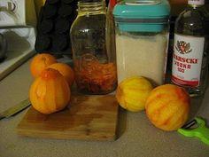 Home-Made Orange Liqueur (or Triple Sec)