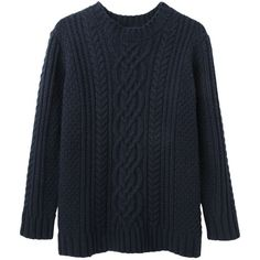 Steven Alan Cable Knit Sweater found on Polyvore