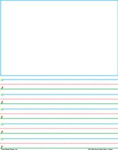 free teaching resources primary graphic paper for writing - 600×777