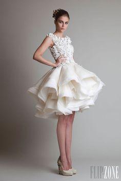 awesome+dresses | ... Hottest Wedding Trend: 48 Awesome Short Wedding Dresses » Photo 13