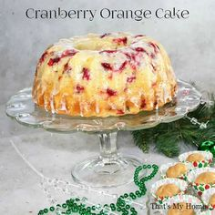 Top 12 Sweet Spot Recipes That Are Timeless! Cranberry Orange Bundt Cake Recipe, Cranberry Orange Bread, Cake Calories, Savarin, Cooking Cake, Cooking Tips, Bunt Cakes, Delicious Deserts, Pound Cake Recipes
