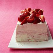 Strawberry Ice Cream Cheesecake Recipe - Woman's Day