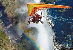 Moniques Amazing African Safari - A scenic flight over Victoria Falls by rhinoafrica.com