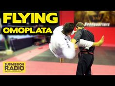 How to do a FLYING Omoplata | BJJ SAMBO - YouTube