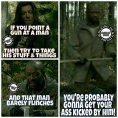 The Walking Dead, Memes, Morgan