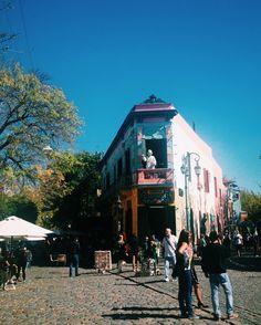 Calle caminito - Buenos Aires