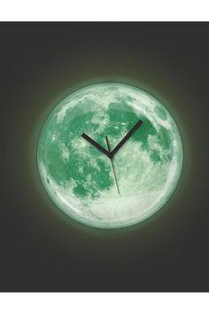 Glow in the Dark Moon Clock!!