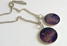 #DIY bijoux effet galaxie en résine http://www.modesettravaux.fr/bijoux-galaxie-resine/ #galaxy #resin