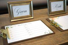 芳名帳無料テンプレート第二弾!フローラルデザインの結婚式ゲストブックを手作りしよう / ペーパーアイテム 装飾アイテム / WEDDING | ARCH DAYS