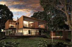 """House """"El Cielo""""  Designe Arq. Miguel Echauri y Arq. Álvaro Morales."""