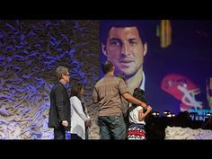 Tim Tebow Foundation and Show Hope Surprise Barrett Family -- gosh he's sexy.