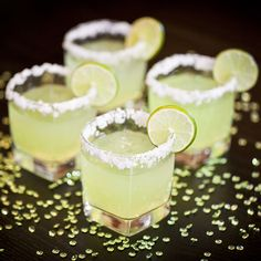 5 new margarita recipes to try this weekend or for a summer party drink.