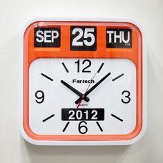 Fartech Retro Calendar Wall Flip Clock!