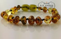 R.B. Amber and Sons Baltic Amber Teething Bracelet