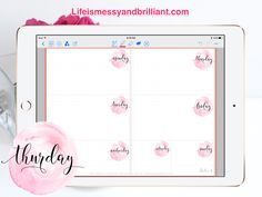 bullet journal, bullet journal weekly spread, bullet journal inspiration, bullet journal junkies, bullet journal printables, bullet journal monthly, how to create bullet journal, how to make a bullet journal, free bullet journal printable, school bullet journal, digital bullet journal, iPad bullet journal, GoodNotes Planner, Digital Stickers, PNG, Clipart